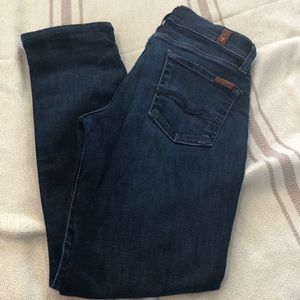 7 for all mankind roxanne jeans 26 x 26.25
